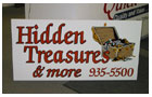 Treasures MDO Sign
